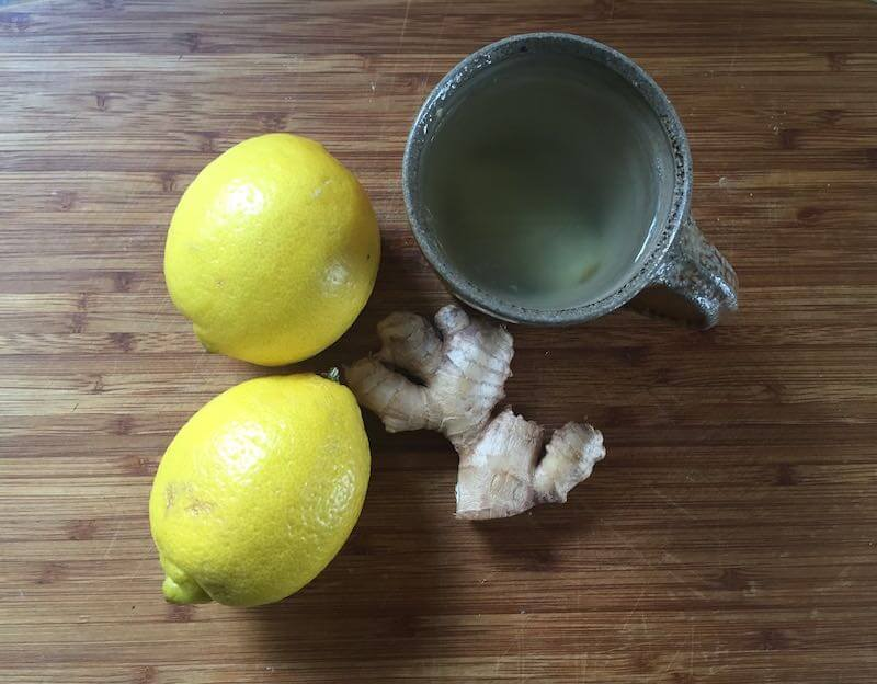 Ginger & Lemon Water