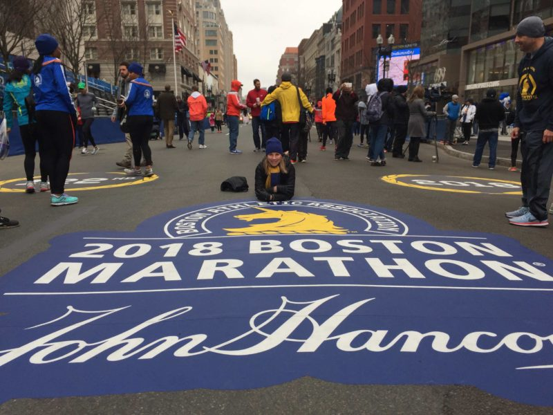 Epic Boston Marathon